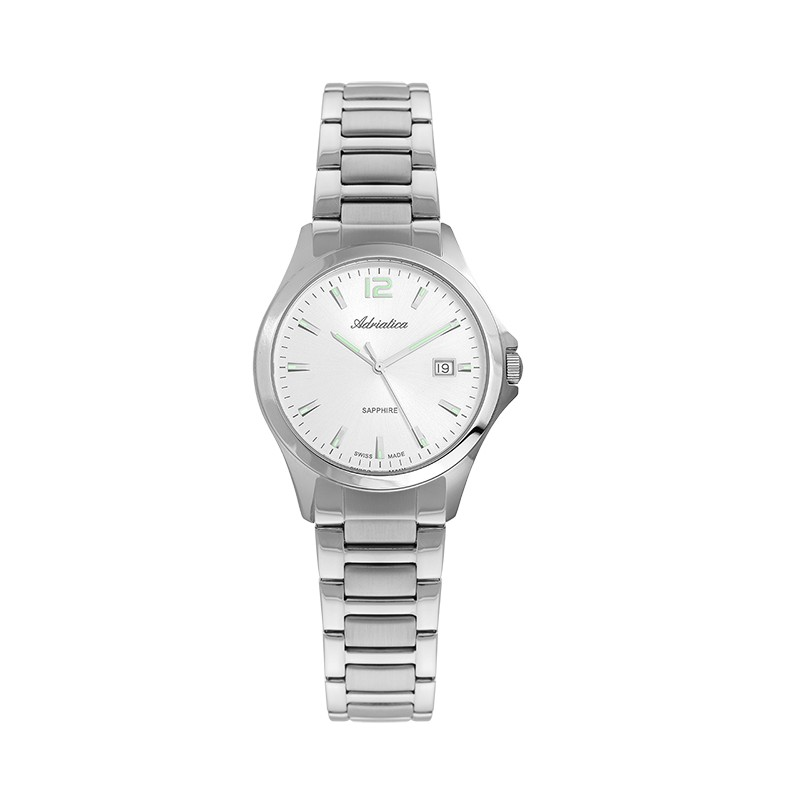 adriatica zegarek srebrny