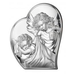 Obrazek Srebrny Aniołek w...