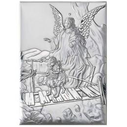 "Srebrny Obrazek "" Anioł..."