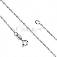 Łańcuszki srebrne damskie długie